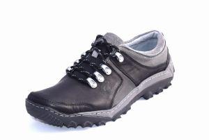 6fdf1ecd Obuwie trekkingowe czarne polskie buty skórzane 278